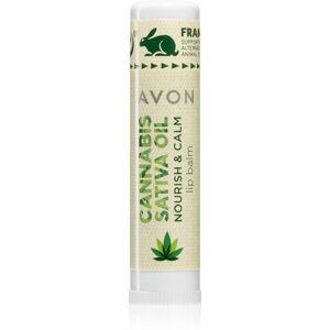 Avon Cannabis Sativa Oil ajakbalzsam kender olajjal 4,5 g