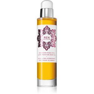 REN Moroccan Rose hidratáló testápoló olaj rózsa illattal 100 ml