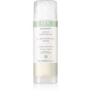 REN Evercalm lágy tisztító gél az érzékeny arcbőrre 150 ml
