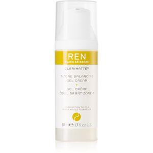 REN Clarimatte™ mattító géles krém kombinált és zsíros bőrre 50 ml