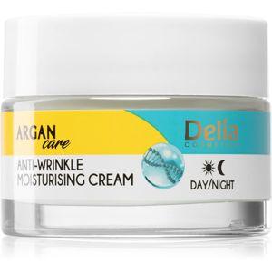 Delia Cosmetics Argan Care mélyen hidratáló krém a ráncok ellen 50 ml