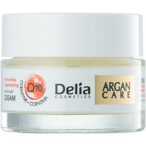 Delia Cosmetics Argan Care regeneráló ráncellenes krém koenzim Q10