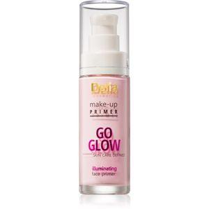 Delia Cosmetics Skin Care Defined Go Glow alap bázis az arcbőr egyesítésére és élénkítésére