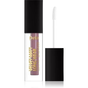 Delia Cosmetics Velvet Matt Long Wear Be Glamour Ultra matt hosszantrató rúzs árnyalat 102 Romance 5 ml