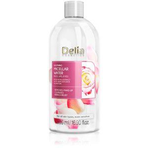 Delia Cosmetics Micellar Water Rose Petals Extract micellás tisztító víz nyugtató hatással