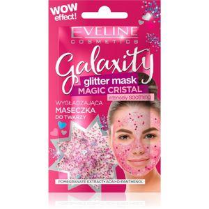 Eveline Cosmetics Galaxity Glitter Mask zselés arcmaszk csillámporral 10 ml