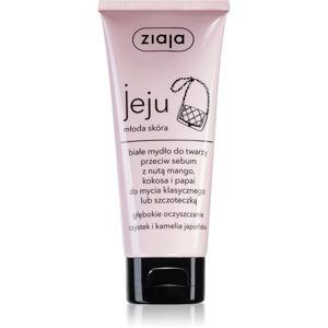 Ziaja Jeju Young Skin tisztító szappan arcra 75 ml