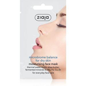 Ziaja Microbiome Balance krém állagú hidratáló maszk 7 ml