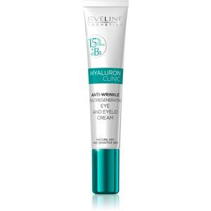 Eveline Cosmetics Hyaluron Clinic kisimító szemkörnyékápoló gél 20 ml