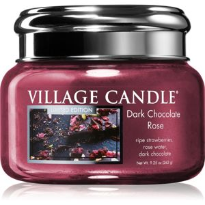 Village Candle Dark Chocolate Rose illatos gyertya 262 g