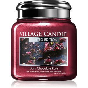 Village Candle Dark Chocolate Rose illatos gyertya 390 g