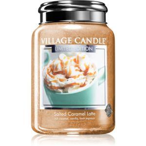 Village Candle Salted Caramel Latte illatos gyertya 602 g