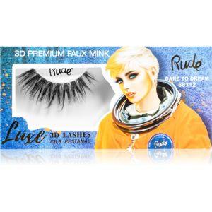 Rude Cosmetics Luxe 3D Lashes ragasztható műszempilla Dare to Dream