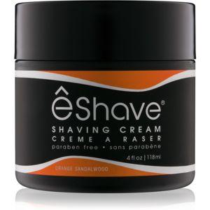 eShave Orange Sandalwood borotválkozási krém
