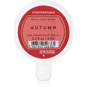 Bath & Body Works Autumn illat autóba utántöltő 6 ml