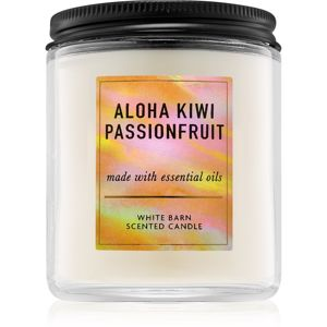 Bath & Body Works Aloha Kiwi Passionfruit illatos gyertya I. 198 g