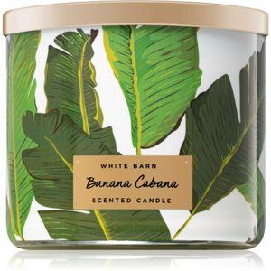 Bath & Body Works Banana Cabana illatos gyertya 411 g
