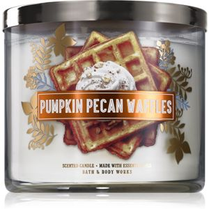Bath & Body Works Pumpkin Pecan Waffles illatos gyertya I. 411 g