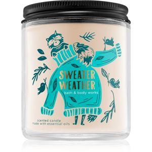 Bath & Body Works Sweater Weather illatos gyertya I. 198 g