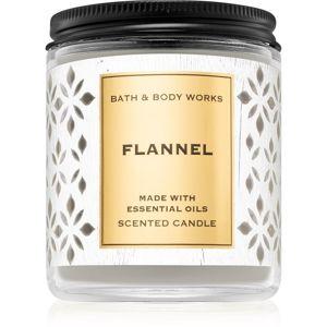 Bath & Body Works Flannel illatos gyertya VIII. 198 g