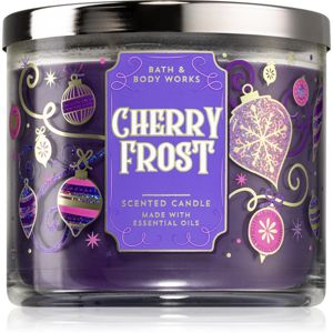 Bath & Body Works Cherry Frost illatos gyertya 411 g