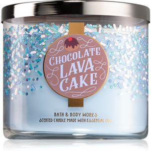 Bath & Body Works Chocolate Lava Cake illatos gyertya 411 g