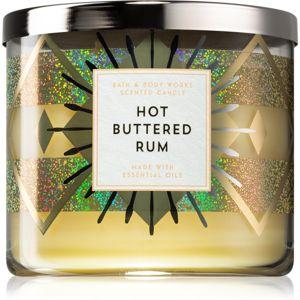 Bath & Body Works Hot Buttered Rum illatos gyertya 411 g