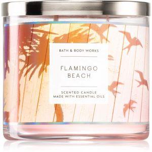 Bath & Body Works Flamingo Beach illatos gyertya 411 g