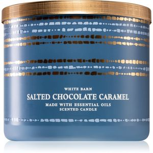 Bath & Body Works Salted Chocolate Caramel illatos gyertya 411 g
