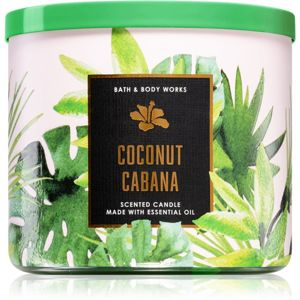 Bath & Body Works Coconut Cabana illatos gyertya 411 g