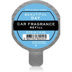 Bath & Body Works Beautiful Day illat autóba utántöltő 6 ml