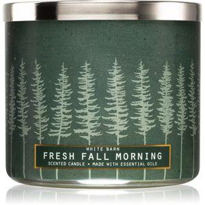 Bath & Body Works Fresh Fall Morning illatos gyertya 411 g