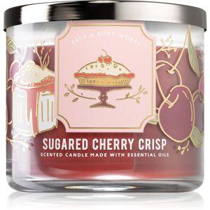 Bath & Body Works Sugared Cherry Crisp illatos gyertya I. 411 g