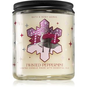 Bath & Body Works Twisted Peppermint illatos gyertya I. 198 g