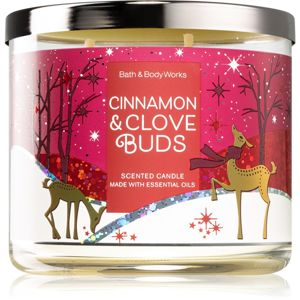Bath & Body Works Cinnamon & Clove Buds illatos gyertya II. 411 g