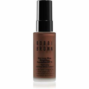 Bobbi Brown Mini Skin Long-Wear Weightless Foundation hosszan tartó make-up SPF 15 árnyalat Neutral Chestnut 13 ml