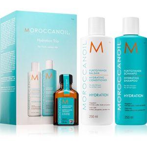 Moroccanoil Hydration kozmetika szett (a töredezett, károsult hajra) hölgyeknek