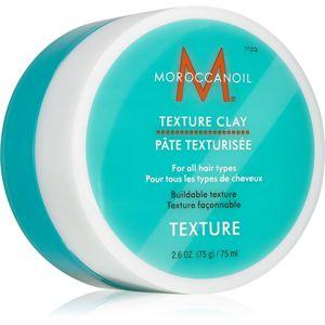 Moroccanoil Texture formázó agyag hajra mattító hatással a formáért és a fixálásért 75 ml