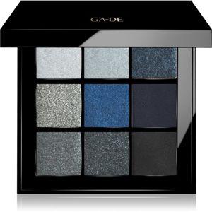 GA-DE Velveteen szemhéjfesték paletta árnyalat 46 My Dark Romance 8,1 g