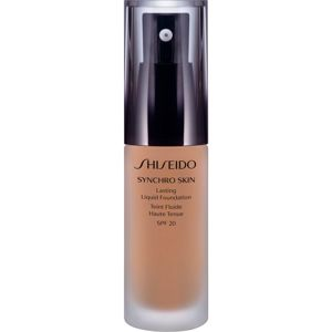 Shiseido Synchro Skin Lasting Liquid Foundation hosszan tartó make-up SPF 20 árnyalat Neutral 4 30 ml