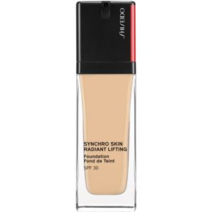 Shiseido Synchro Skin Radiant Lifting Foundation élénkítő lifting make-up SPF 30 árnyalat 210 Birch 30 ml
