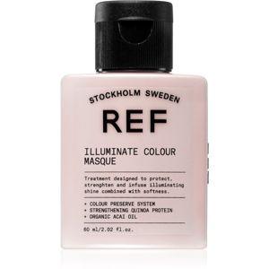 REF Illuminate Colour tápláló hajmaszk a tündöklő fényért 60 ml