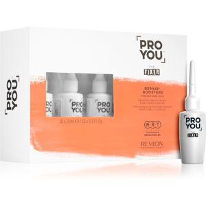 Revlon Professional Pro You The Fixer intenzív regeneráló szérum a károsult hajra és fejbőrre 10x15 ml