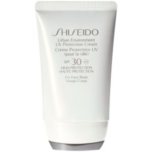 Shiseido Sun Care Urban Environment UV Protection Cream védő krém arcra és testre SPF 30