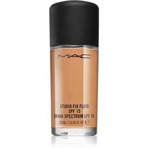 MAC Cosmetics Studio Fix Fluid mattító make-up SPF 15 árnyalat NC 55 30 ml
