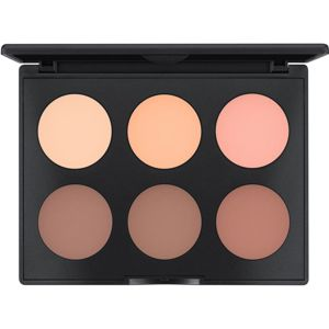 MAC Cosmetics Studio Fix Sculpt and Shape Contour Palette Púderes highlight és kontúr paletta Light / Medium 1 db