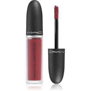 MAC Cosmetics Powder Kiss Liquid Lipcolour mattító folyékony rúzs árnyalat Fashion Emergency 5 ml