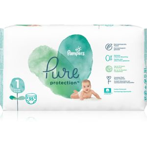 Pampers Pure Protection Size 1 pelenkák (2-5 kg) 35 db