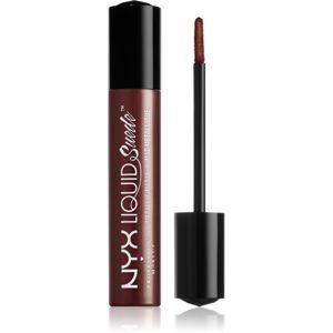 NYX Professional Makeup Liquid Suede™ Metallic Matte Matt metál hatású folyékony ajakrúzs