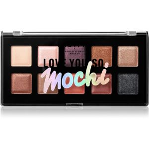 NYX Professional Makeup Love You So Mochi szemhéjfesték paletta